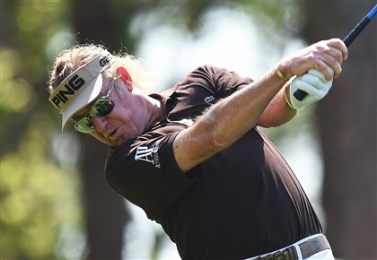 Miguel Angel Jimenez  Miguel Angel Jimenez is one of six players 50 or older to make the cut.