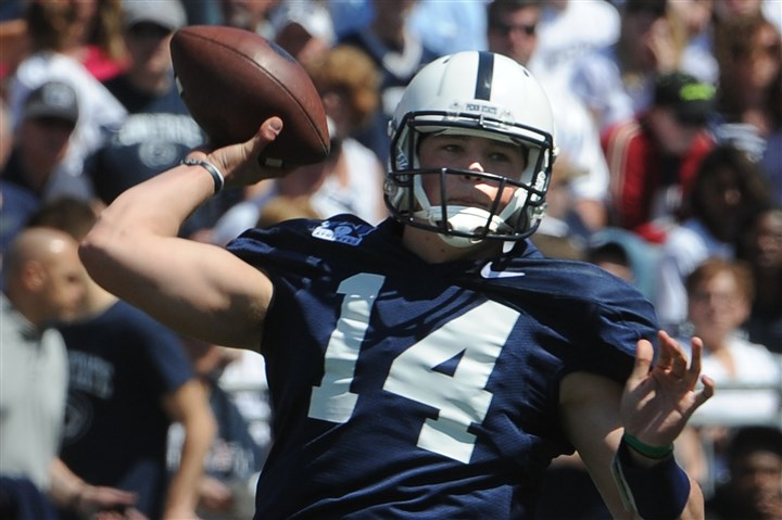 hackenberg0803 Penn State's offense has hope as long as Christian Hackenberg is at the helm.