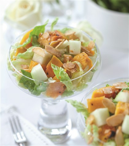 Butternut Squash Butternut Squash Salad with Sugar n Spice Nuts.