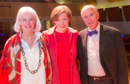 20140413TOWNSLITERATI5-3 Katy Rich Sherman, Ann Patchett and Fred Sherman.