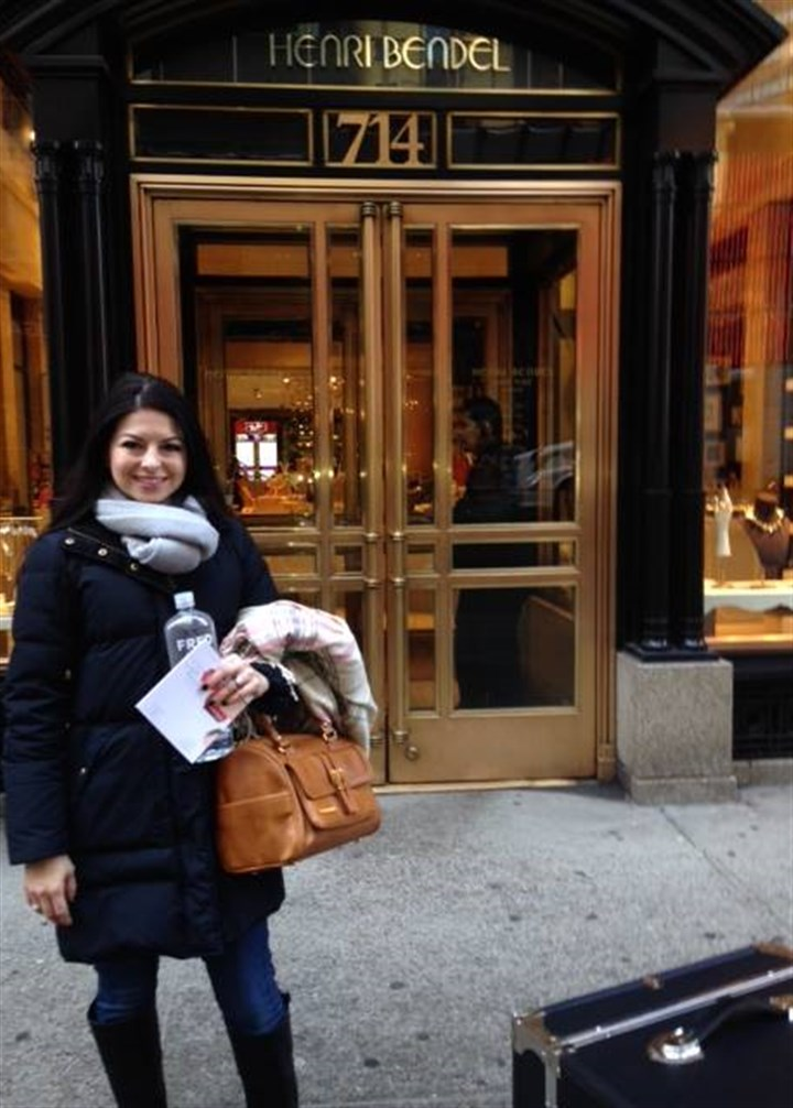 Sandra Reiman at Henri Bendel Sandra Reiman outside Henri Bendel in midtown Manhattan in February. Ms. Reiman's handbags were selected to be featured at a trunk show at the upscale retailer later in April.