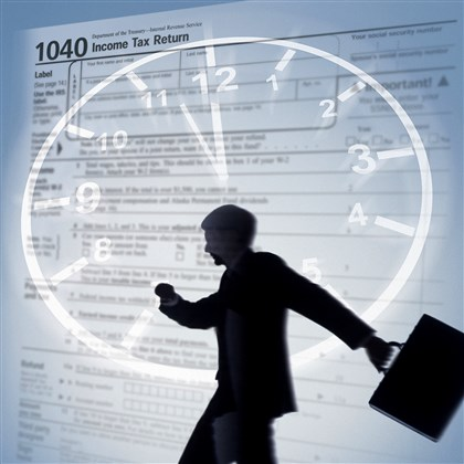 20140415taxesBiz03-2 The IRS can assess penalties to taxpayers for failing to file on time.