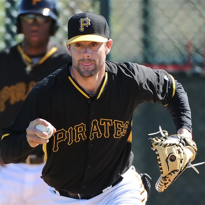 stewart0420 Pirates catcher Chris Stewart will be the new backup catcher behind Russell Martin.