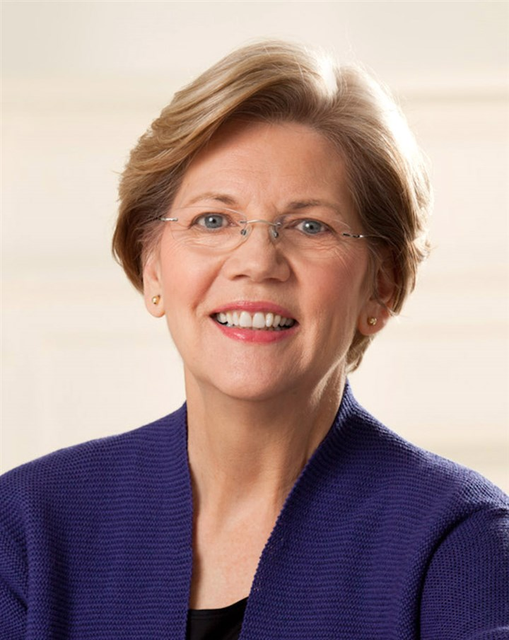 "2014Warren2-1 U.S. Sen. Elizabeth Warren, a Democrat from Massachusetts, tells her personal and political story in ""A Fighting Chance."""