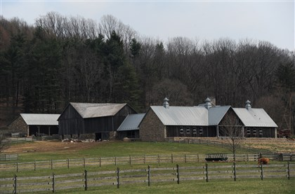 20140411CheeseMag10-9 The Farm at Doe Run is part of a 700-acre estate bought in 2008 by Richard Hayne, founder and CEO of Urban Outfitters. .
