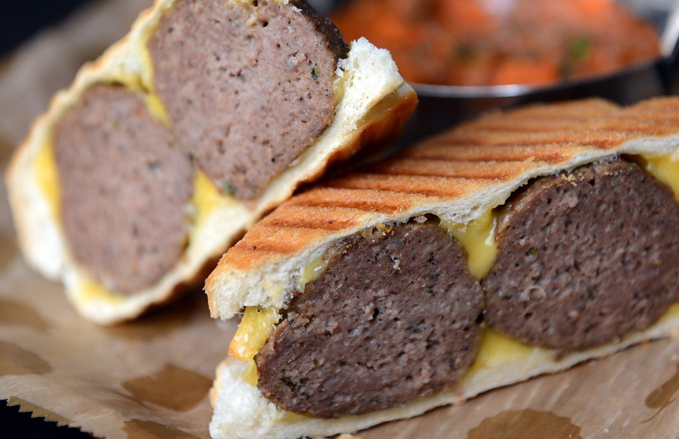 20140327jrMeatballFood3-2 Beef meatball panini.