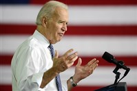 Vice President Joe Biden speaks during a visit to the Community College of Allegheny County's West Hills Center in April.