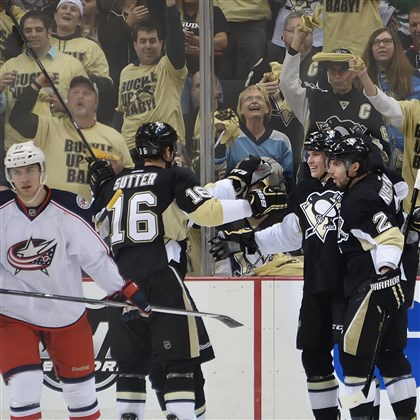 Nastiness missing from Penguins-Blue Jackets, at least for the …