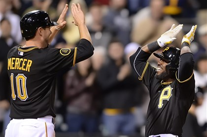 Pirates blast four home runs, pound Brewers, 11-2