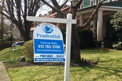 20140417yardsign2-1 People will no longer see the old Prudential signs in yards around the area.