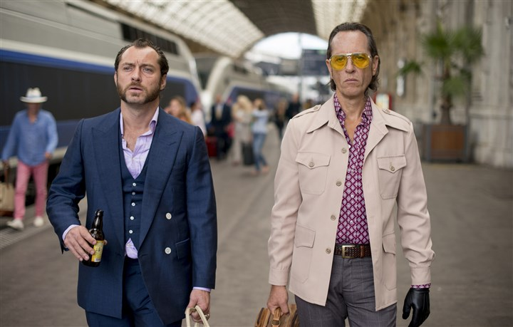 "Dom Hemingway Jude Law and Richard E. Grant star in ""Dom Hemingway."""