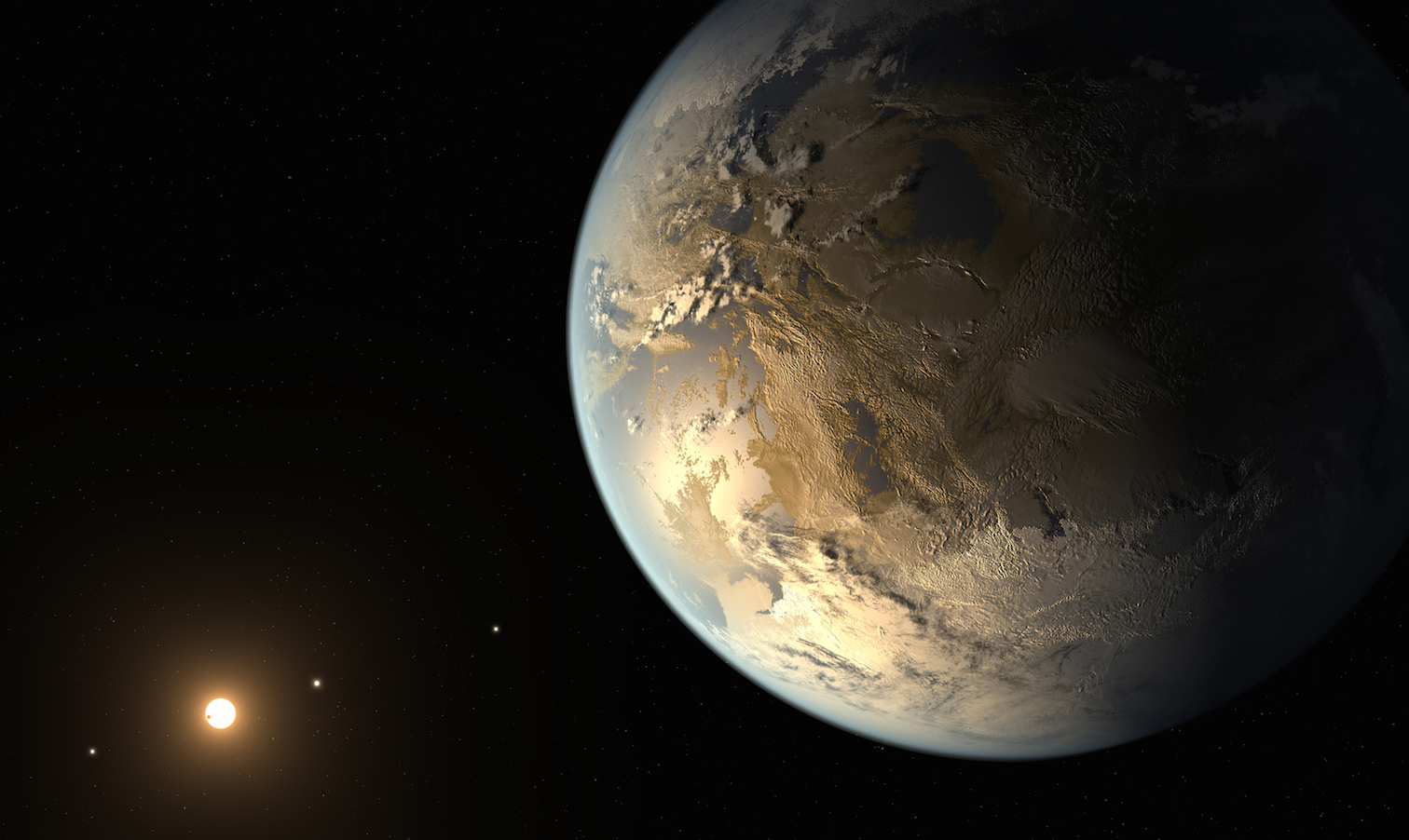 First Earth-sized planet found in star's habitable zone ...