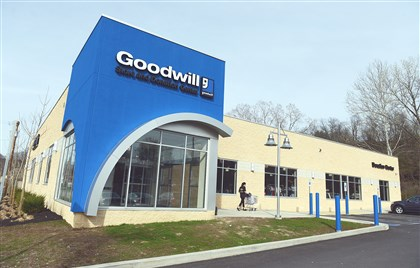 20140419bwGoodwillWest04-3 The new Goodwill Southwest Pennsylvania in Heidelberg includes a drive-through service for drop off.