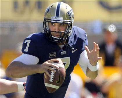 20140420savage Former Pitt quarterback Tom Savage: one of the hottest NFL draft prospects.