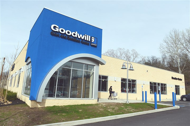 Goodwill 1 The new Goodwill Southwest Pennsylvania in Heidelberg. The store includes a drive-through service for drop off.