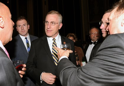Wounded Warrior U.S. Rep. Tim Murphy, center.