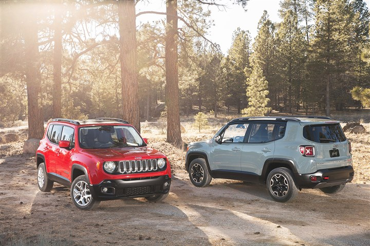 20140421JEEPRENEGADE The 2015 Jeep Renegade expands the Fiat Chrysler brands' global portfolio.
