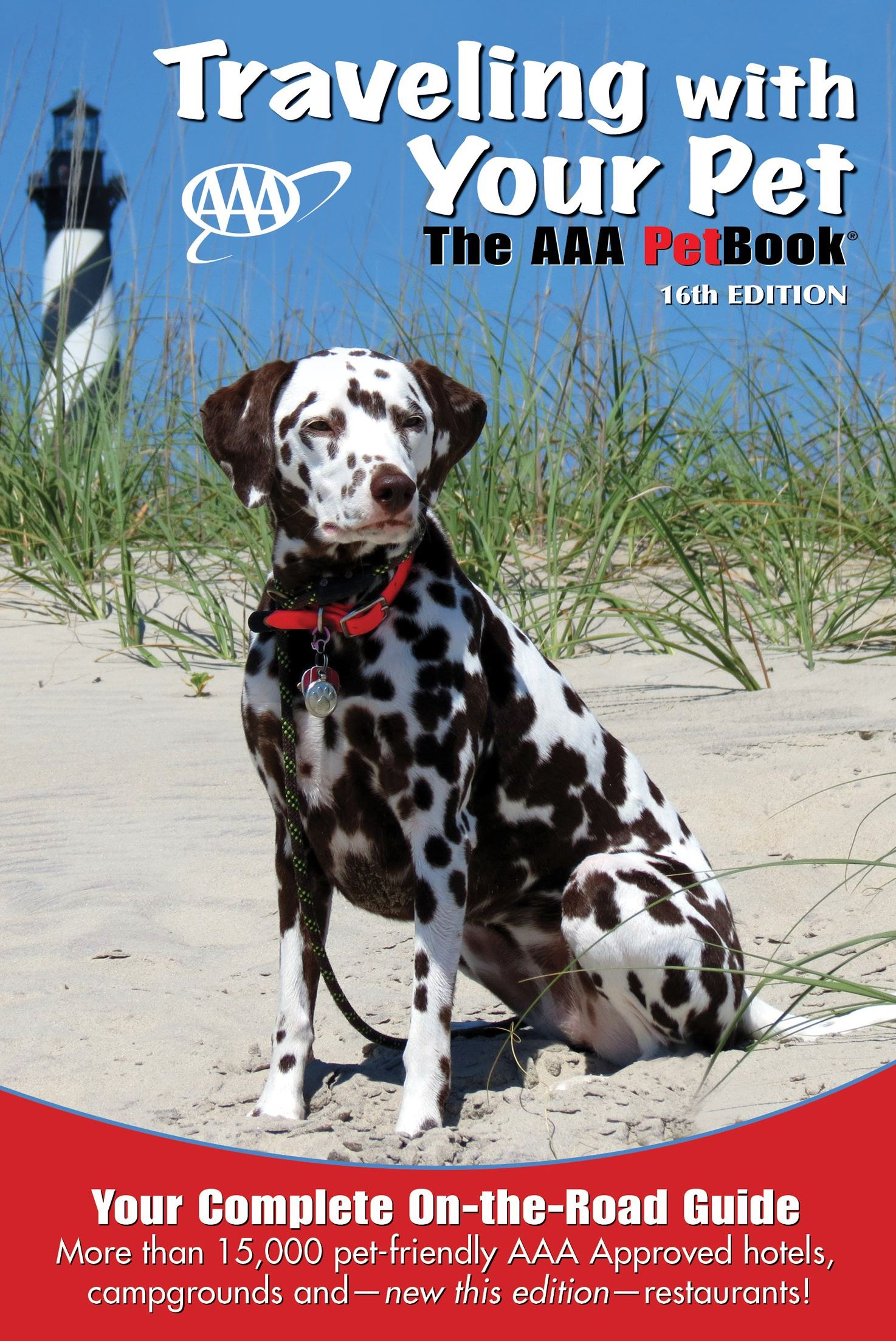 20140421AAApetguide Jazz, a Dalmatian owned Jim and Lisa Ann Bauer of Hampton, won a national contest to grace the cover of the AAA pet friendly travel guide.