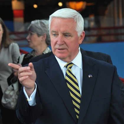 Governor Tom Corbett Pennsylvania Gov. Tom Corbett.
