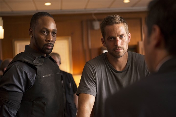 "RZA, Paul Walker in 'Brick Mansions' RZA and Paul Walker star in ""Brick Mansions."""