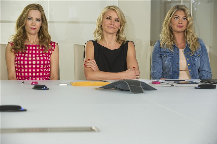 "'The Other Woman' film Kate (Leslie Mann), Carly (Cameron Diaz) and Amber (Kate Upton) in ""The Other Woman."""
