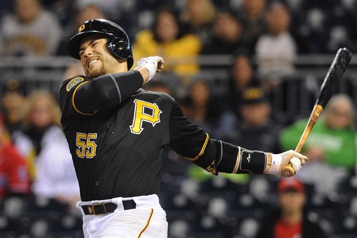 Catcher Russell Martin Catcher Russell Martin was suspended for one game by Major League Baseball after a brawl during Sunday's Pirates-Brewers series finale at PNC Park on Sunday.