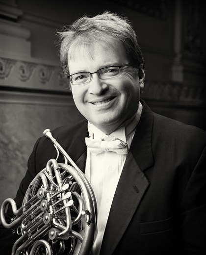 20140424HOWilliamCaballero Pittsburgh Symphony Orchestra principal horn William Caballero.