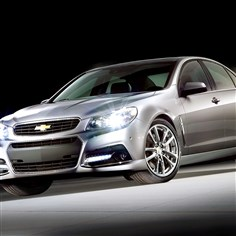 2014 Chevrolet SS The all-new 2014 Chevrolet SS performance sedan is Chevrolet's first rear wheel drive performance sedan in 17 years. The SS will also be Chevrolet's racing car entry in the 2013 NASCAR Sprint Cup series.