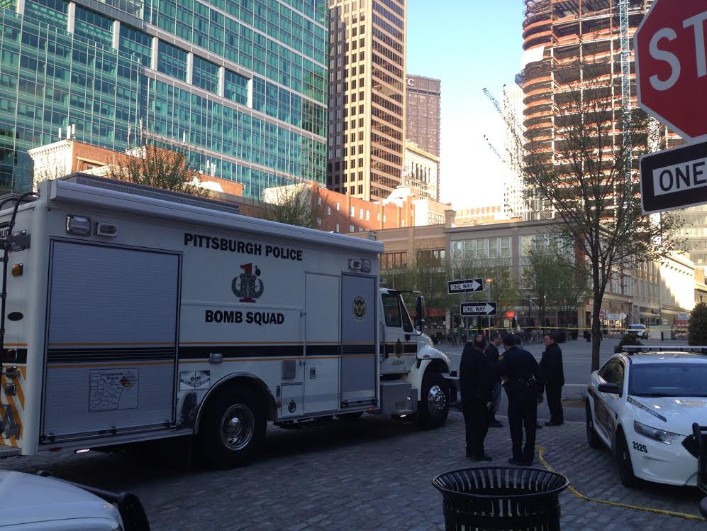 Suspicious package that closed Market Square believed to ...