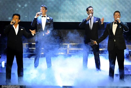 2014IlDivo0424 Classical vocalists Il Divo will interpret the Broadway songbook in concert May 18 at the Benedum Center.