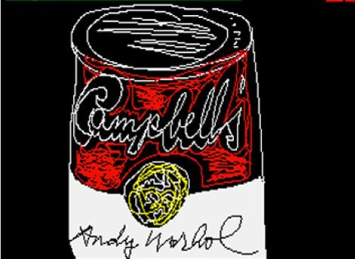 "Campbell's by Andy Warhol 1985 ""Campbell's"" by Andy Warhol, 1985."