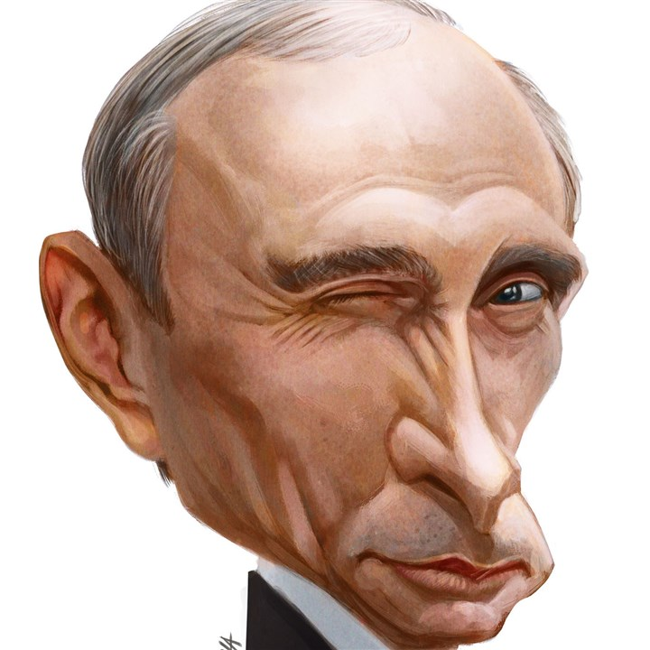 Illustration: Vladimir Putin