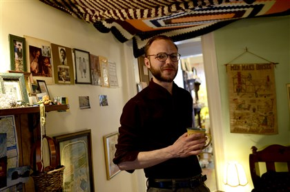 Artist Daniel Pillis Daniel Pillis, who is working toward a master's degree in fine arts at Carnegie Mellon University, has created a whole house art installation from his grandmother's possessions.