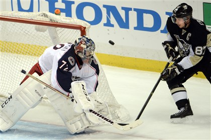 Sergei Bobrovsky stellar in loss for Blue Jackets