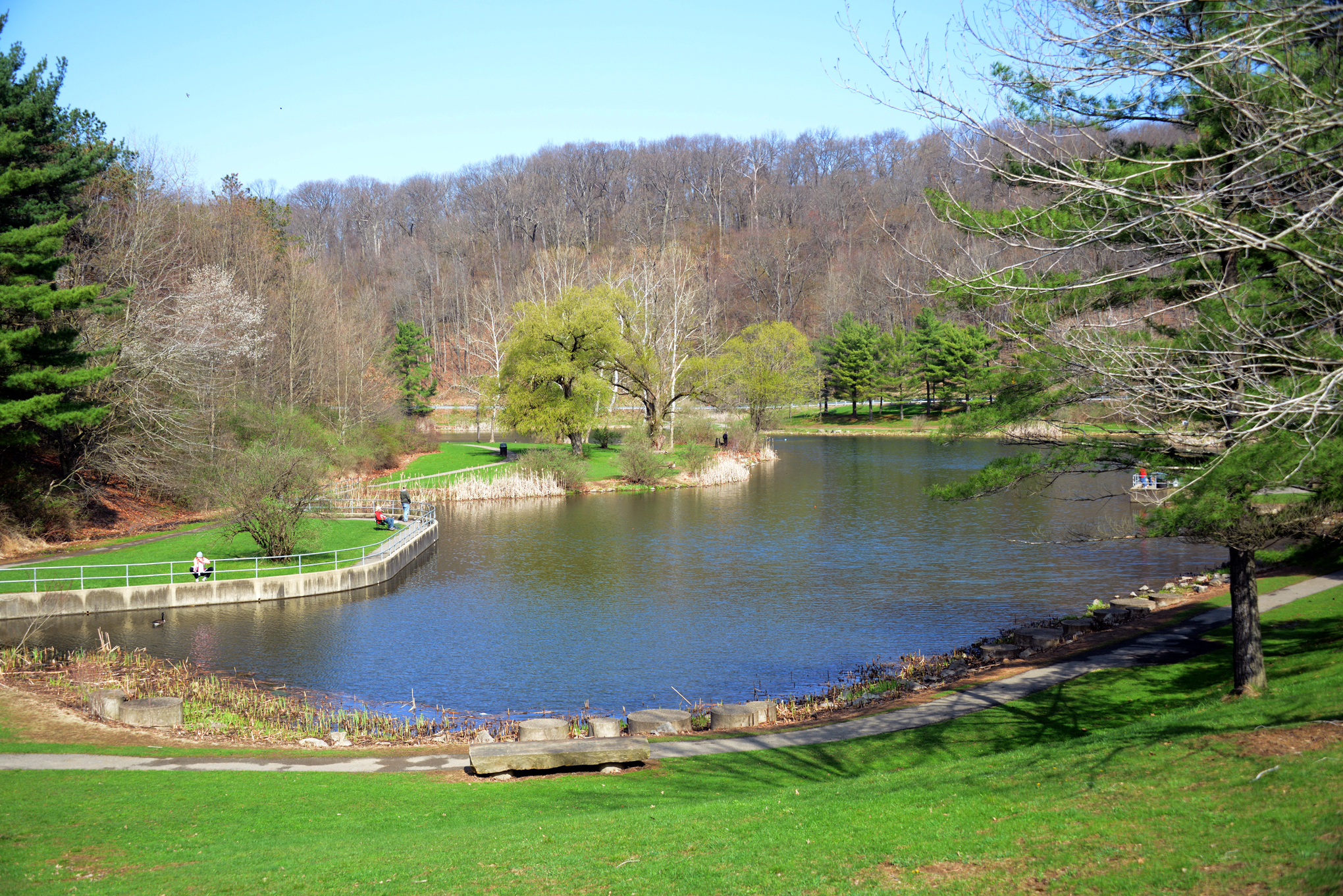 20140426lfLakeLocal02-11 Deer Lakes Park in Tarentum. p