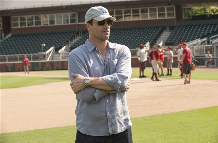 "20140501Million2_preview-1 Jon Hamm stars as sports agent JB Bernstein in Walt Disney Pictures' ""Million Dollar Arm."""
