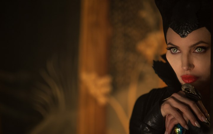 "20140501Maleficent_preview Angelina Jolie in ""Maleficent."""