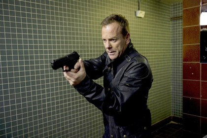 Kiefer Sutherland as Jack Bauer. 24: LIVE ANOTHER DAY Thanks, Jack.