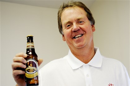 8lx00kfu-2 Mark Dudash of Upper St. Clair, who brought back Duquesne Beer in 2010 is resurrecting a new version of Fort Pitt beer, scheduled to hit the market next month.