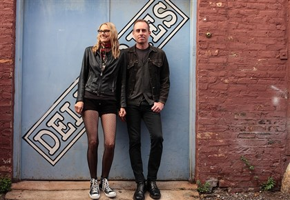 20140428hotheboth Aimee Mann and Ted Leo.
