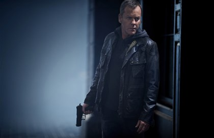 "20140502HOLiveAnother4-3 Kiefer Sutherland returns as Jack Bauer in "" 24: Live Another Day."""