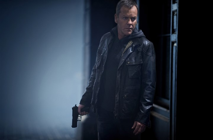 "20140502HOLiveAnother4-3 Kiefer Sutherland as Jack Bauer in ""24: Live Another Day."""