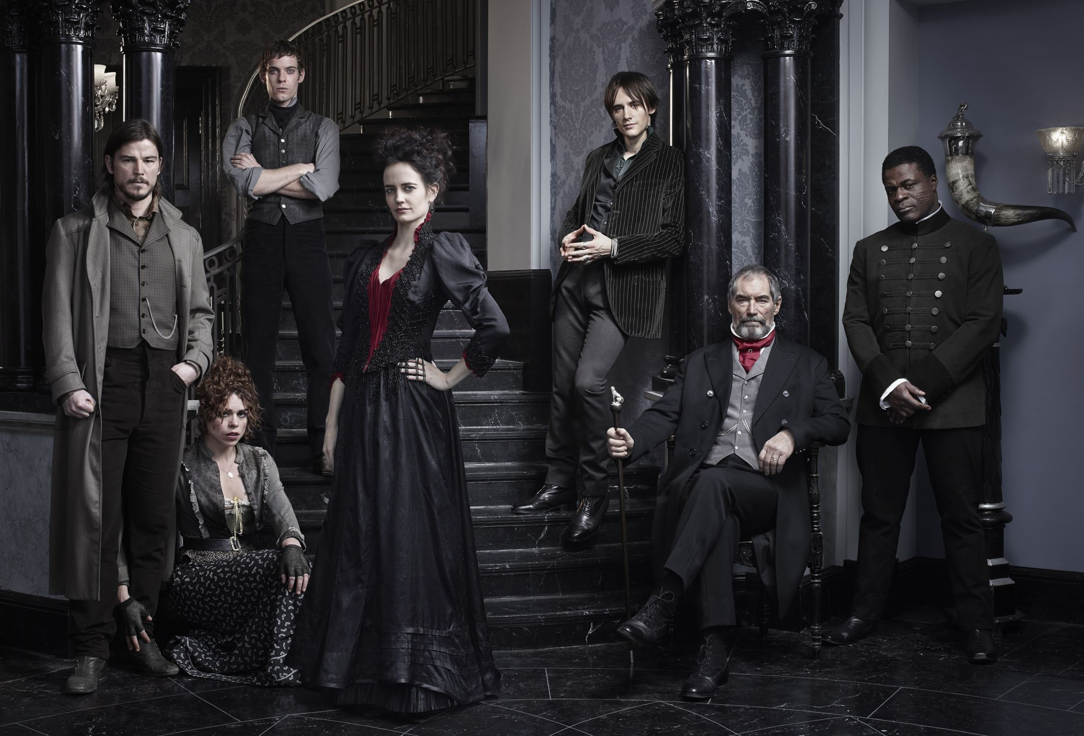 20140509hopennydreadful2 1 the cast of penny dreadful from left