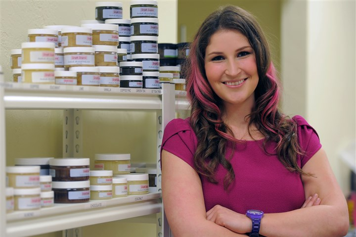Lani Lazzari Lani Lazzari of Fox Chapel is the founder of Simple Sugars, a line of all-natural, handmade body and face scrubs.