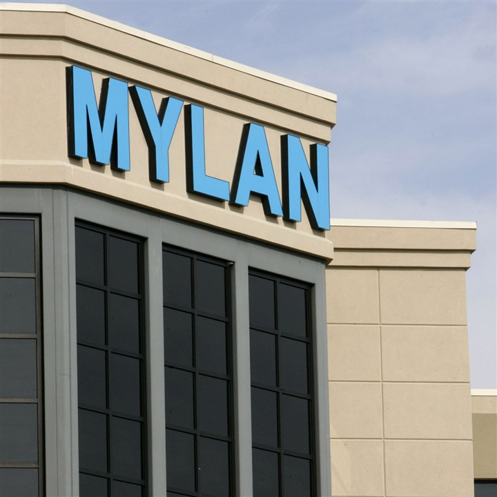 Mylan headquarters The Mylan Laboratories Inc. headquarters is pictured in Canonsburg.
