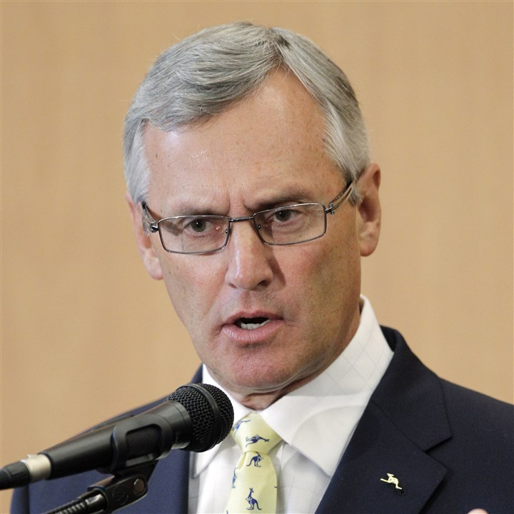 Akron President Tressel James P. Tressel, former head football coach at Ohio State University and Youngstown.