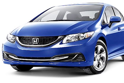 20140430HondaCivic 2014 Honda Civic LX Sedan