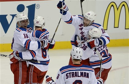 Advantage, New York — Penguins lose to Rangers in OT