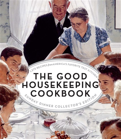"20140502hoGoodHousefood ""The Good Housekeeping Cookbook: Sunday Dinner Collector's Edition"""