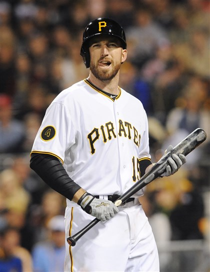 Ike Davis bats left-handed The fact that Ike Davis bats left-handed and has a high career on-base percentage attracted the Pirates.